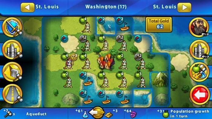 Clássico Civilization pode ser jogado no modo Multiplayer local (Foto: Divulgação)