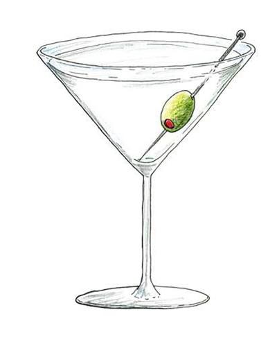 Dry Martini (Foto: Ilustrações Daniel Almeida)