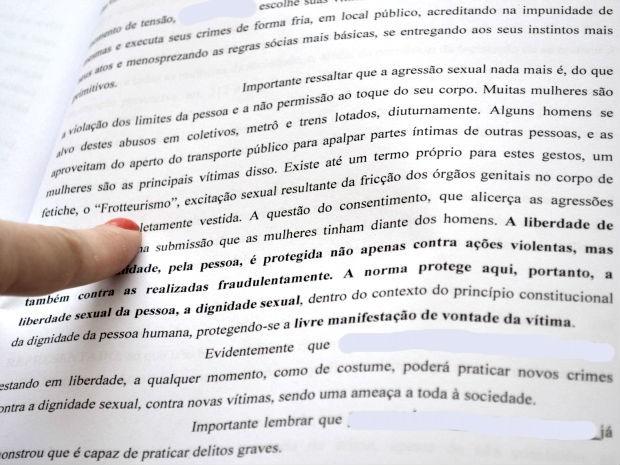 'Estou arrependido', diz suspeito de abusar de 15 mulheres em ônibus em Campo Grande MS (Foto: Gabriela Pavão/G1 MS)