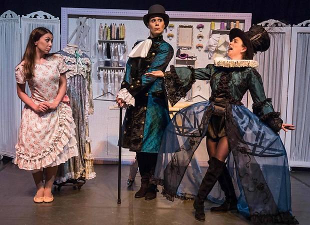 Cinderela Lá lá lá. Espetáculo ficou entre as três finalistas do prêmio de melhor peça infantil.  (Foto: Divulgação)