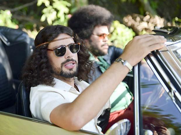 Cauã Reymond e Babu Santana em 'Tim Maia' (Foto: Divulgação)
