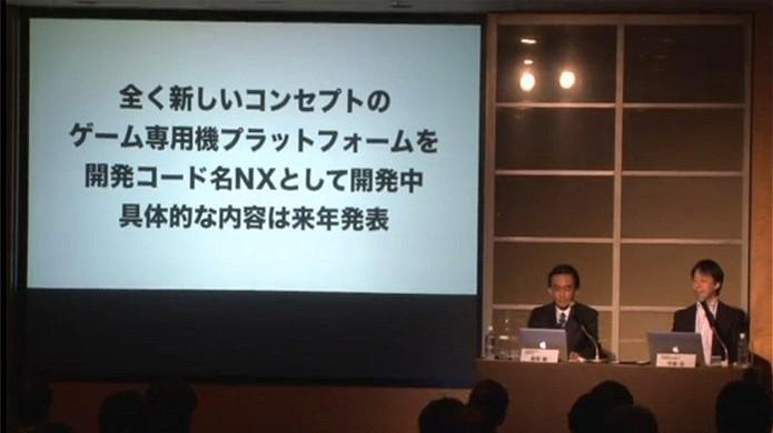 Presidente da Nintendo, Satoru Iwata, anunciou jogos para smartphones e novo videogame, o NX (Foto: Reprodução/Siliconera)