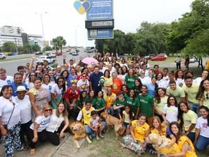 Transforma Recife - programa de voluntariado (Foto: Divulgação/ PCR)