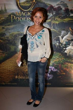 Gabriela Alves em pré-estreia de filme em São Paulo (Foto: Manuela Scarpa/ Foto Rio News)