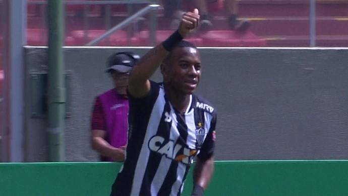 Atlético-MG; Robinho (Foto: Reprodução/Premiere)