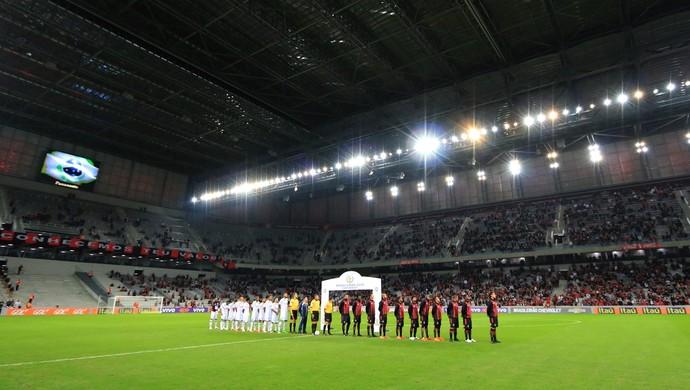 atlético-pr x figueirense arena da baixada (Foto: Luiz Henrique / FFC)