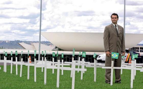 deputado federal Jair Bolsonaro (Foto: Sergio Dutti/Estadão Conteúdo)