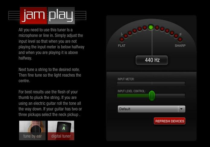 Opção digital permite usar o microfone do computador (Foto: Reprodução/André Sugai)