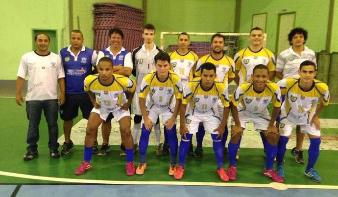 Equipe do Bom de Bola é semifinalista do Capixaba Adulto de futsal (Foto: Divulgação/Fesfs)