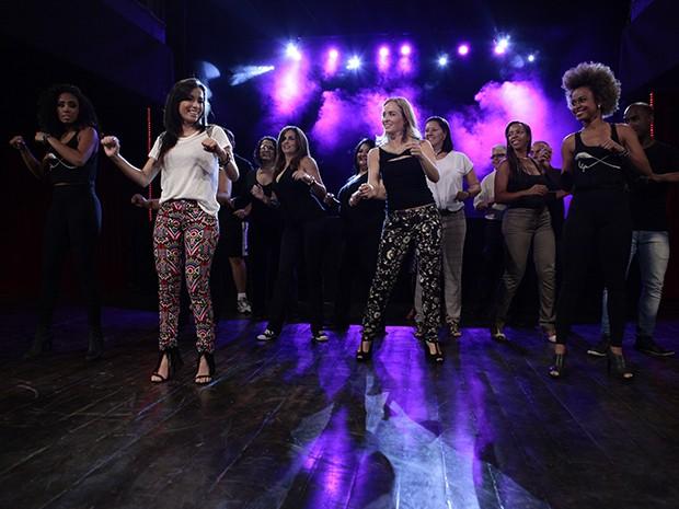 Anitta já deu aulas de dança (Foto: Estrelas/TV Globo)