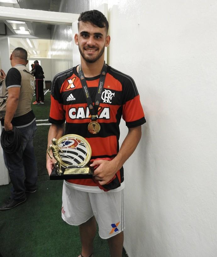 Felipe Vizeu, Flamengo (Foto: Fred Gomes/GloboEsporte.com)