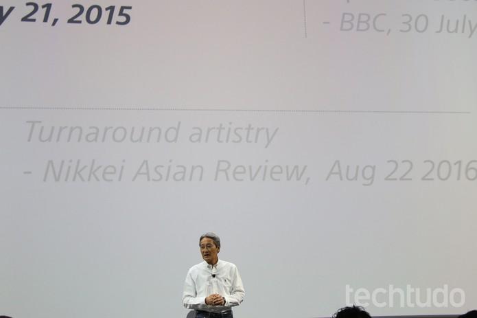 Sony na IFA 2016 (Foto: Fabrício Vitorino/TechTudo)