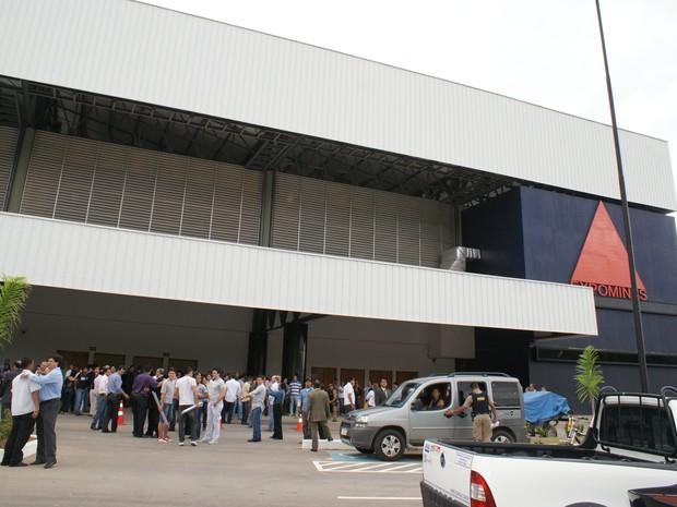 O centro de convenções Aécio Cunha é o maior espaço de eventos da região Nordeste de Minas.  (Foto: Sérgio  Guimarães/Imprensa Oficial do Estado de Minas Gerais)