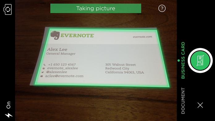 Evernote e linkedin digitalizam cartes de visita com link para evernote agora tem scanner de dados foto divulgaoevernote reheart Gallery