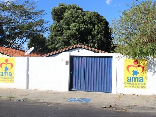 Associação doa Amigos Autistas do Piauí (AMA-PI) (Foto: Ellyo Teixeira/G1)