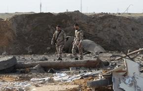 Forças de segurança palestina inspecionam local de ataque israelense em Rafah, no sul da Faixa de Gaza, nesta quarta-feira (27) (Foto: Said Khatib/AFP)