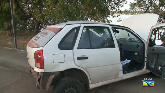 Motorista perde o controle e causa acidente em São Luís