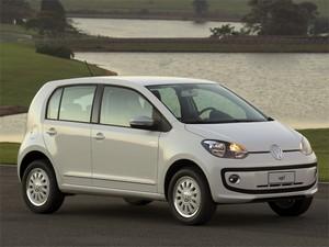 Primeira imagem oficial do Volkswagen Up! nacional (Foto: Divulgação)