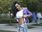 Fernanda D'avila revela dieta que secou o corpão: 'Comecei a comer mais'