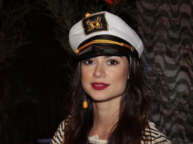 Thaila Ayala  em festa de Halloween no Rio (Foto: Isac Luz/ EGO)