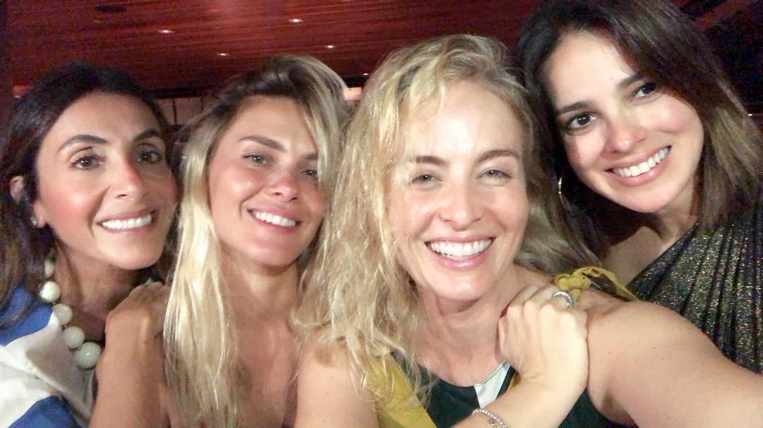 Carolina Dieckmann, Angelica e Vera Viel (Foto: Reprodução/Instagram)