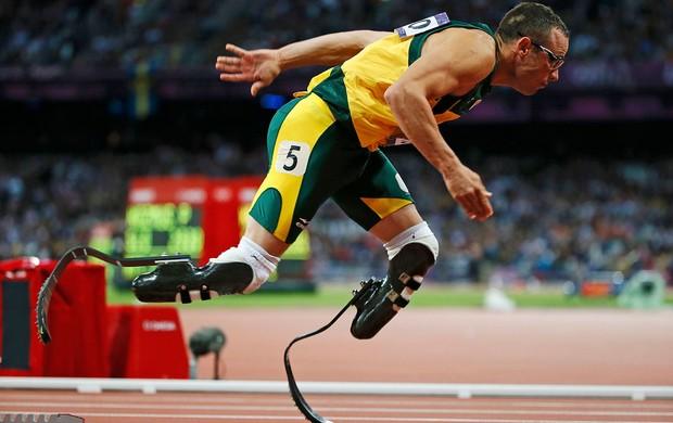 Oscar Pistorius, Atletismo, Londres (Foto: Agência Reuters)