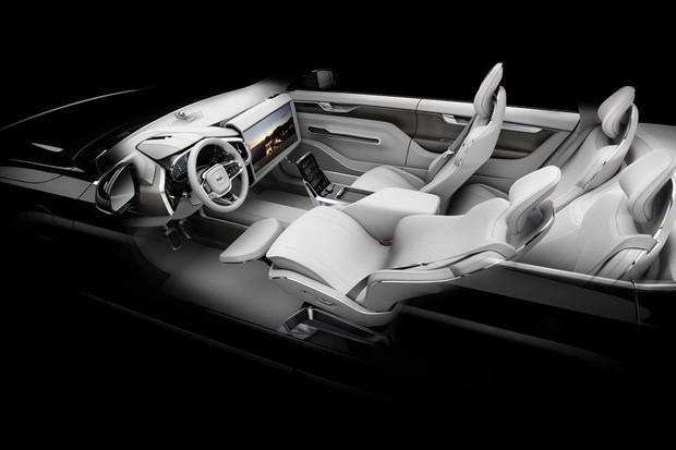 Conceito de interior da Volvo (Foto: Divulgação)