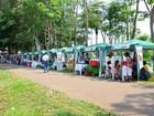 Produtos da agricultura familiar são vendidos em feira livre de Ariquemes