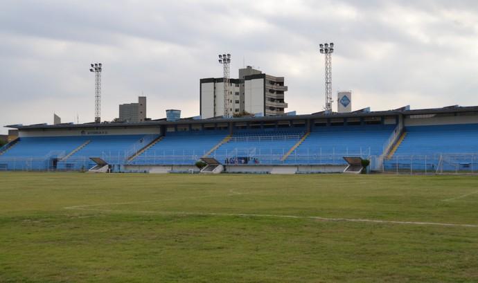 Estádio Salvador Costa, em Vitória (Foto: Sidney Magno Novo/GloboEsporte.com)