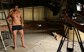 Making of Marcelo posa para o Paparazzo (Foto: Luciana Tancredo / Paparazzo)
