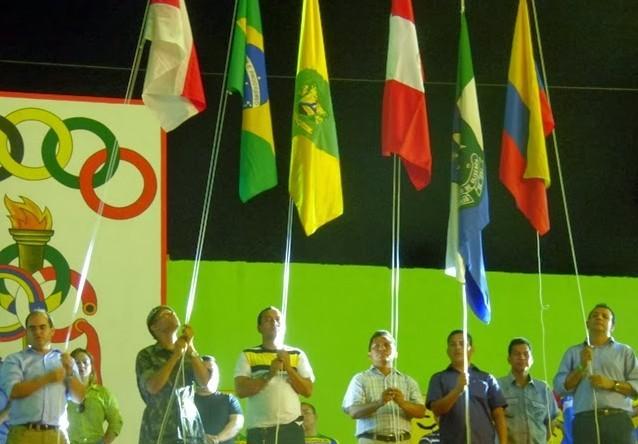 Jogos reuniram atletas brasileiros, colombianos e peruanos (Foto: Divulgação)