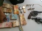 Quadrilha suspeita de assaltar frigorífico é presa com R$ 32 mil no PI