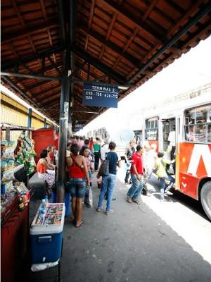 Em média, 50 mil usuários passam pelo terminal por dia, diz Prefeitura (Foto: Alexandre Fonseca/Seminf)