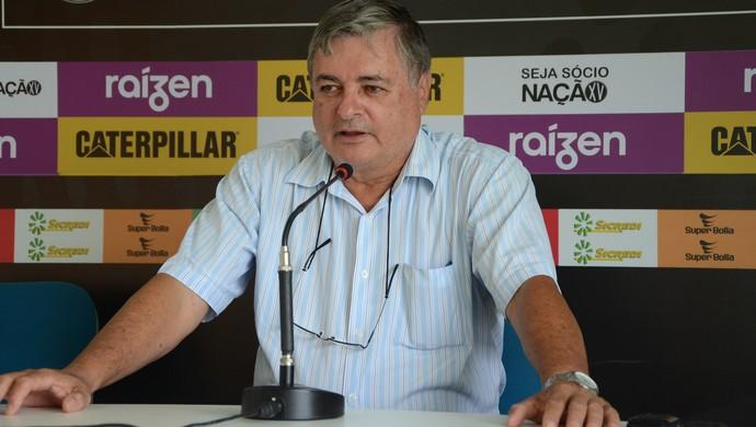 Renato Bonfíglio Diretor de Futebol XV de Piracicaba Nhô Quim (Foto: Evandro Pelligrinotti / XV de Piracicaba)