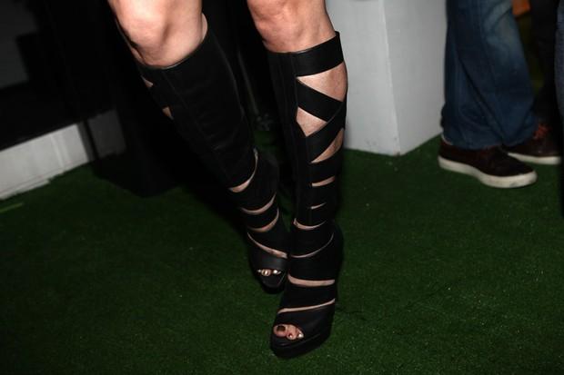 Sapato de Dani Winits no RIR (Foto: Iwi Onodera / EGO)