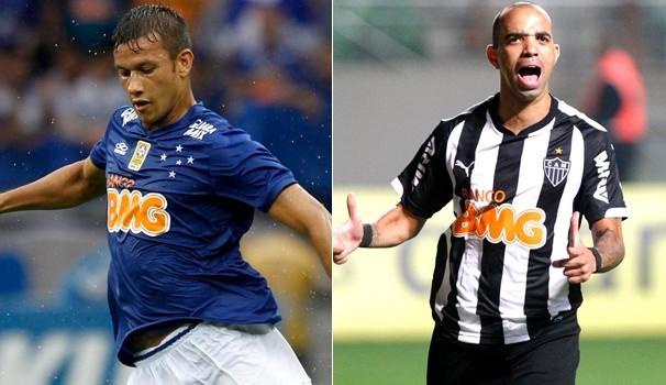 Cruzeiro x Atlético-MG (Foto: Reprodução Globoesporte)
