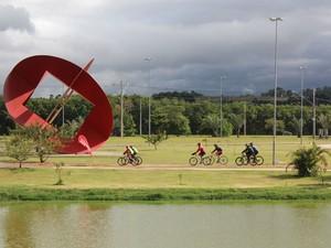 Pedala será realizado no Parque das Águas, no Jardim Abaeté (Foto: Divulgação)