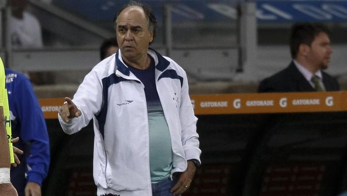 Marcelo Oliveira, técnico do Cruzeiro (Foto: Gualter Naves / Light Press)