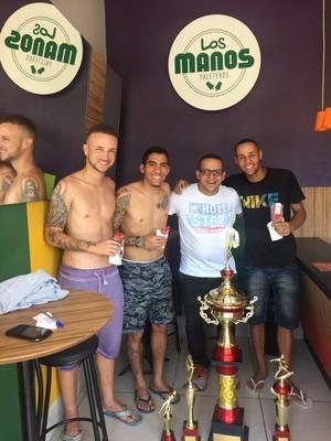 Sidney Botafogo e Allan Napoli (Foto: DIvulgação)