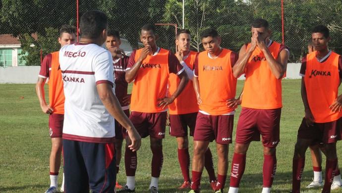 América-RN - Time - Treino (Foto: Canindé Pereira/América FC)