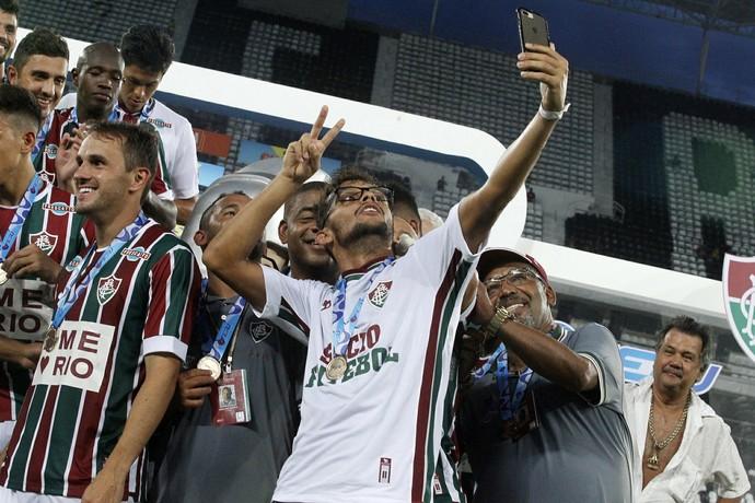 scarpa, fluminense (Foto: Nelson Perez/Fluminense FC)