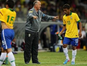 Marcos Rocha no amistoso com o Chile (Foto: Wagner Carmo/VIPCOMM)