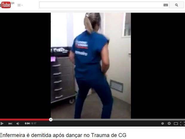Enfermeira é demitida após ser flagrada dançando em hospital