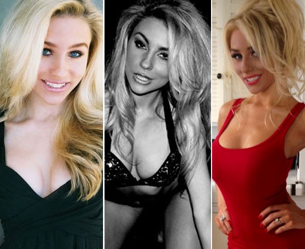 Courtney aos 16 (2010), aos 17 (2011) e aos 18 (2012) (Foto: Reprodução/Twitter)