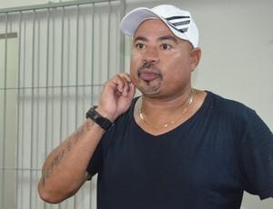 Mirandinha, treinador do Santa Cruz-PB (Foto: Hévilla Wanderley / GloboEsporte.com)