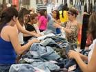 Bazar Moda do Bem oferece descontos de até 70% em Fortaleza