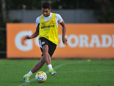 Leandrinho, Santos (Foto: Ivan Storti/Santos FC)