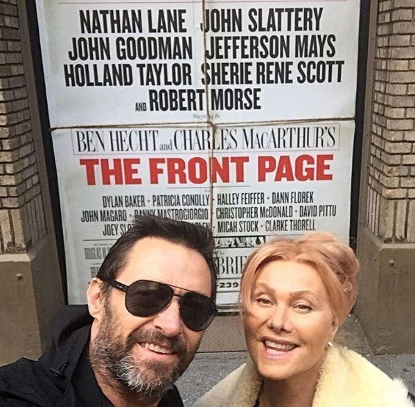 Hugh Jackman e Deborra Lee-Furness (Foto: Reprodução/Instagram)