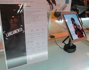 iPad mini chega sem barulho ao Brasil (Foto: Gustavo Petró/G1)