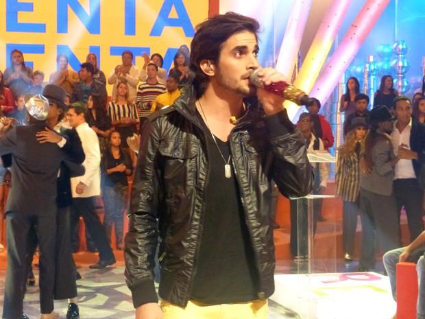 Fiuk canta no Esquenta! (Foto: Esquenta/TV Globo)